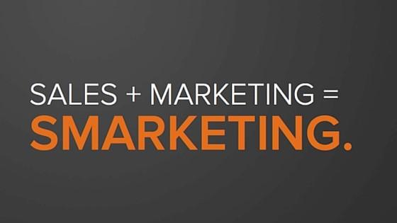 Sales + Marketing = Smarketing